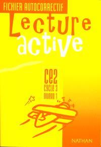 Lecture active CE2 : fichier autocorrectif