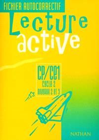 Lecture active CP-CE1, cycle 2, niveaux 2 et 3 : fichier autocorrectif