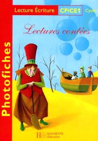 Lectures contées, CP-CE1, cycle 2 : photofiches