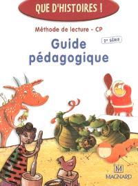 Méthode de lecture CP, 2e série : guide pédagogique