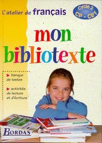 Mon bibliotexte cycle 2