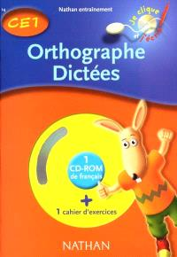 Orthographe-dictées, CE1