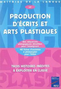 Production d'écrits et arts plastiques, CP : trois histoires inédites à exploiter en classe