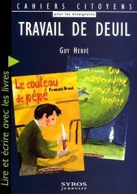 Travail de deuil : lire et écrire avec les livres