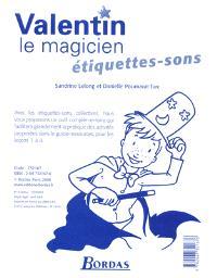 Valentin le magicien : étiquettes-sons CP