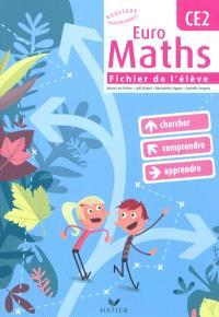 Euro maths CE2 : cycle des approfondissements : chercher, comprendre, apprendre
