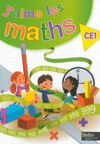 J'aime les maths : CE1