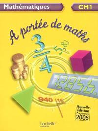 A portée de maths, mathématiques CM1