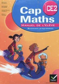 Cap maths CE2, cycle 3 : manuel de l'élève : nouveaux programmes; Le dico-maths CE2, cycle 3 : répertoire des mathématiques : nouveaux programmes