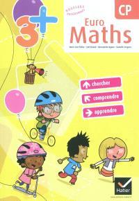 Euro maths, CP : cycle des apprentissages fondamentaux : conforme au socle commun et aux nouveaux programmes