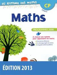 Maths CP, cycle 2 : programmes 2008