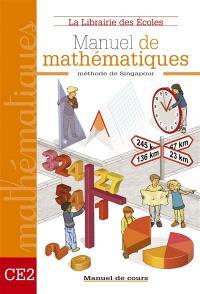 Mathématiques méthode de Singapour CE2 : cours