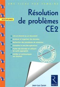 Résolution de problèmes CE2 : programmes 2008
