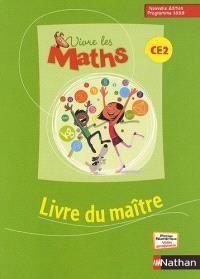 Vivre les maths CE2 : livre du maître