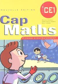 Cap maths, cycle 2, CE1 : fichier d'entraînement