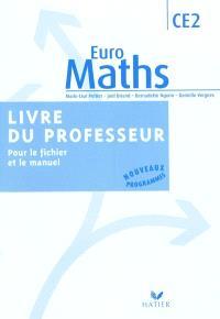 Euro maths, CE2 : livre du professeur