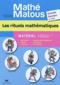 Les rituels mathématiques : matériel : grande section et ASH