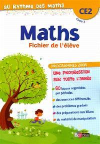 Maths : CE2, cycle 3 : fichier de l'élève