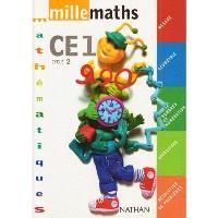 Millemaths CE1 : fichier de l'élève