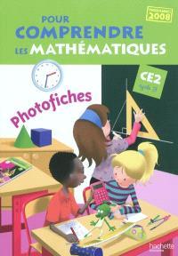 Pour comprendre les mathématiques, CE2 cycle 3 : photofiches