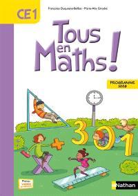 Tous en maths ! CE1 : programme 2008
