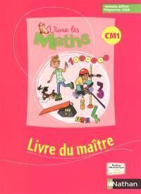 Vivre les maths CM1 : livre du maître