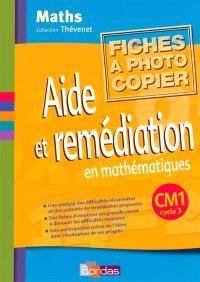 Aide et remédiation CM1 : fichier photocopiable