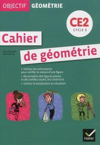 Cahier de géométrie CE2 cycle 3