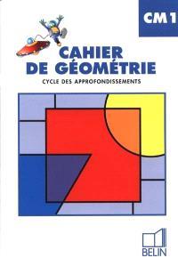Cahier de géométrie CM1, cycle des approfondissements