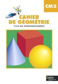 Cahier de géométrie CM2