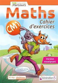 Cahier numérique : maths CM1 : version site-réseau