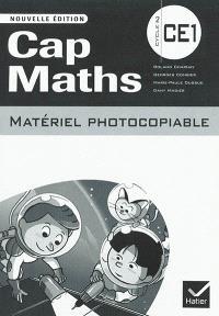Cap maths, cycle 2, CE1 : matériel photocopiable