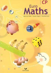 Euro maths CP : fichier de l'élève
