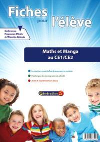 Fiches pour l'élève, Maths et manga au CE1-CE2