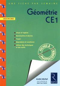 Géométrie CE1 : programmes 2008