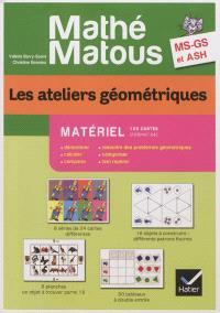 Les ateliers géométriques, MS, GS, ASH : matériel