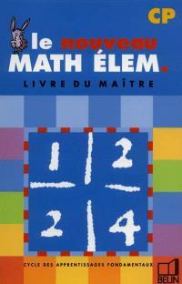 Math élém CP : livre du maître