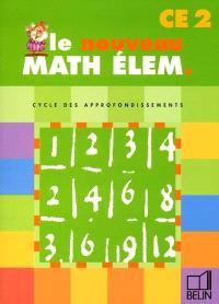 Math élem. CE2, cycle des approfondissements : fichier