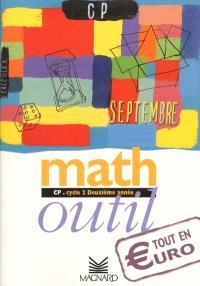 Math outil, CP, cycle 2, deuxième année : tout en euro, livre de l'élève