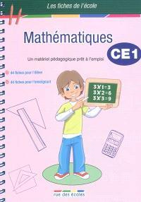 Mathématiques CE1 : un matériel pédagogique prêt à l'emploi