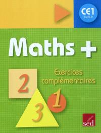 Maths + cycle 2 CE1 : exercices complémentaires