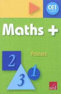 Maths + cycle 2 CE1 : posters