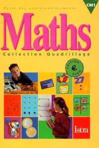 Maths CM1, cycle des approfondissements