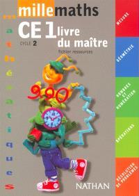 Millemaths CE1 : guide pédagogique