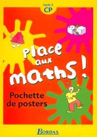 Place aux maths, cycle 2, CP : pochette de posters