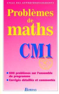 Problèmes de maths, CM1 : cycle des approfondissements