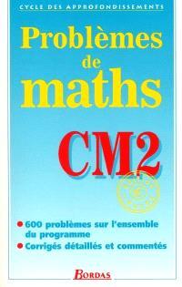 Problèmes de maths, CM2 : cycle des approfondissements