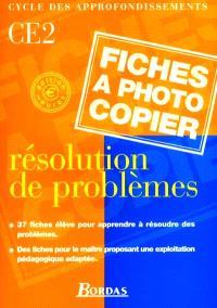 Résolution de problèmes, CE2 : cycle des approfondissements