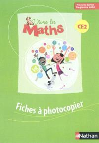 Vivre les maths CE2 cycle 3 : fiches à photocopier