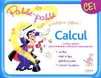 Calcul, CE1 : un livre-ardoise pour s'entraîner, effacer et recommencer : nombres, calcul en ligne, opérations posées, mesures-conversions